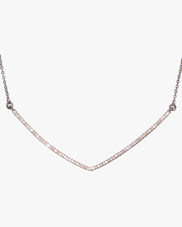 Shana Gulati Large V Pendant Necklace 1