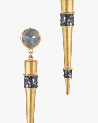 Shana Gulati Ishim Spike Earrings 2