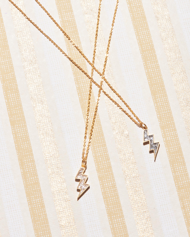 Rishi Bolt Pendant Necklace