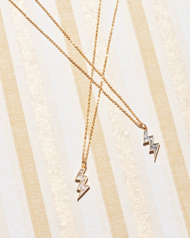 Shana Gulati Rishi Bolt Pendant Necklace 1