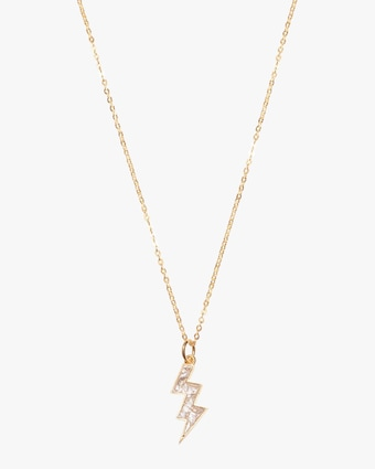 Shana Gulati Rishi Bolt Pendant Necklace 1