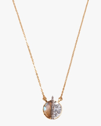 Shana Gulati Mini Elson Pendant Necklace 1