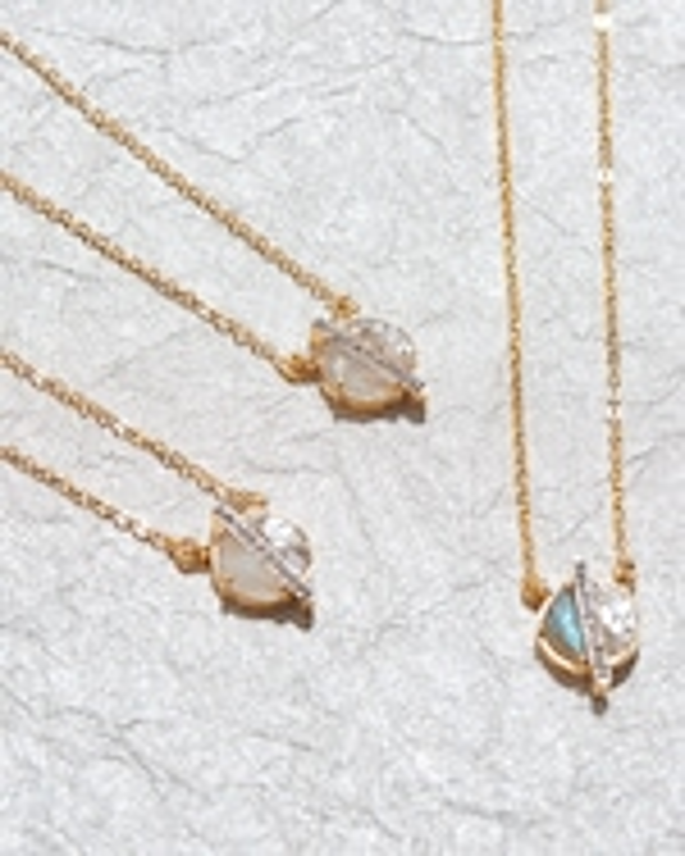 Shana Gulati Mini Elson Pendant Necklace 1