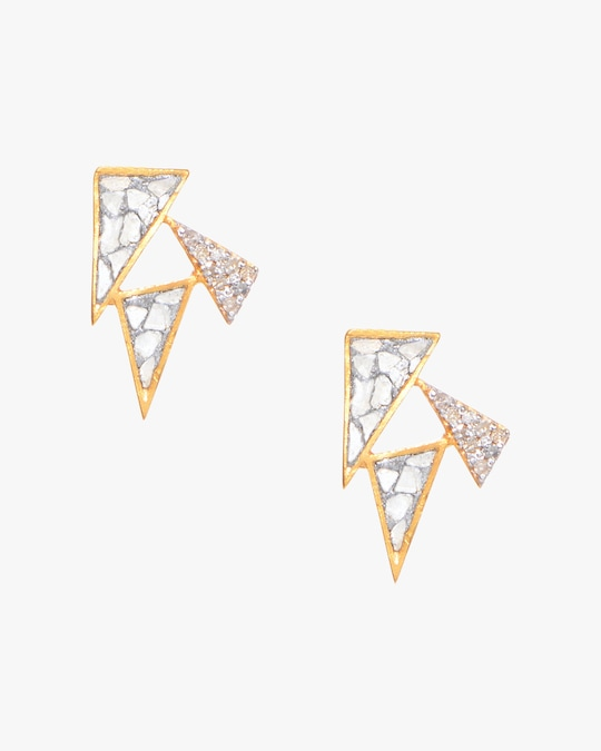 Shana Gulati Doon Stud Earrings 0