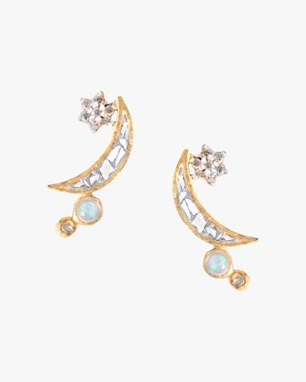 Shana Gulati Kolar Stud Earrings 1