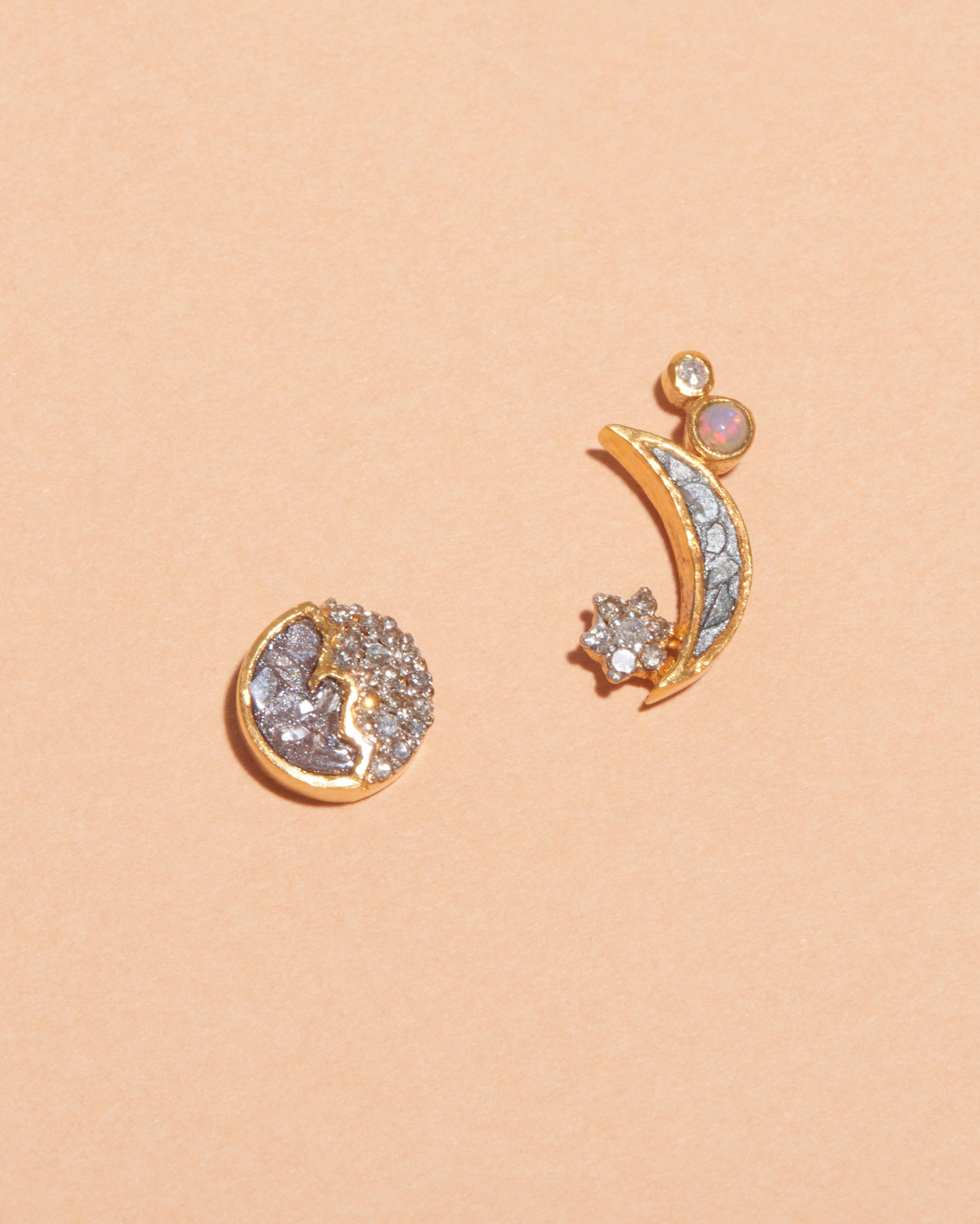 Shana Gulati Kolar Stud Earrings 1