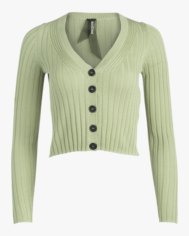 Naadam Cropped Cashmere Cardigan 1