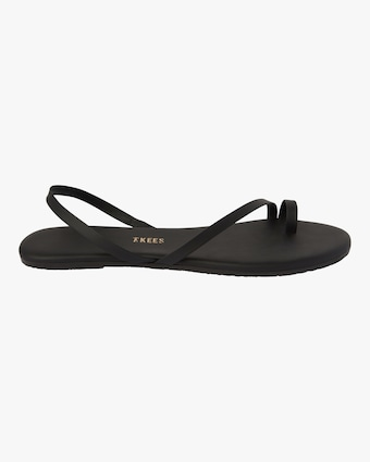 LC Toe-Ring Leather Sandal