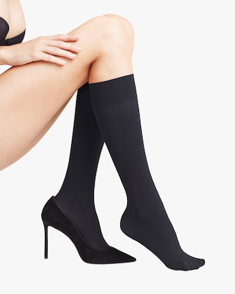 Pure Matte 50 Knee-High Stockings