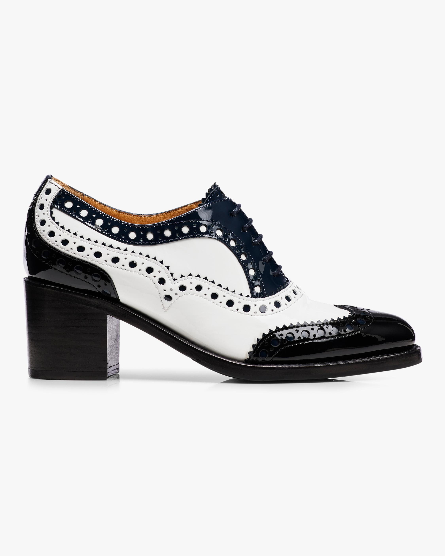 Mrs. Doubt Brogue Mid Heel