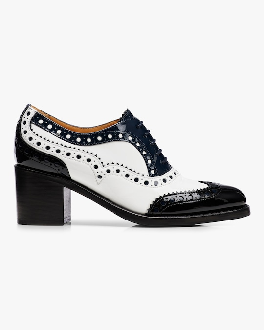 The Office of Angela Scott Mrs. Doubt Brogue Mid Heel 0