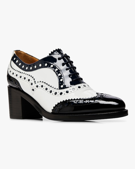 The Office of Angela Scott Mrs. Doubt Brogue Mid Heel 1