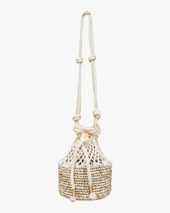 Mini Macramé Crossbody Bag