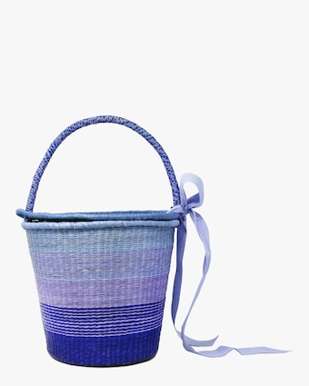 Medium Degrade Basket Bag