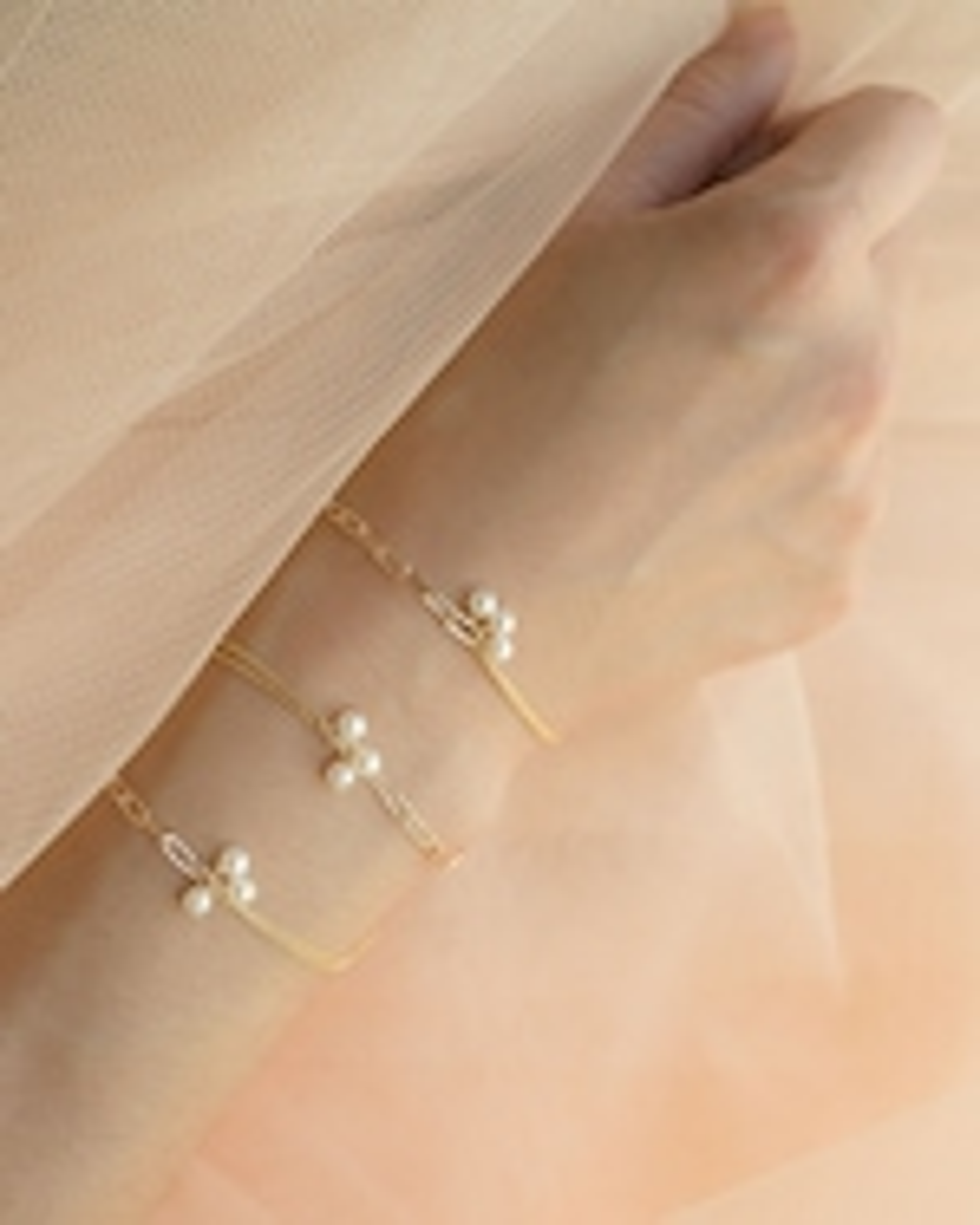 Poppy Finch Chain Pearl Bracelet 2