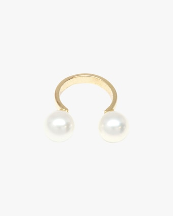 Single Pearl Ear Cuff