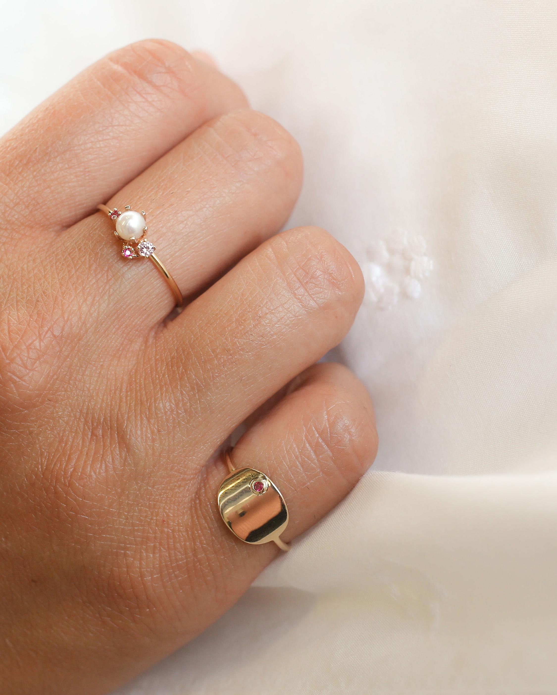 Poppy Finch Oval Ruby Ring 1