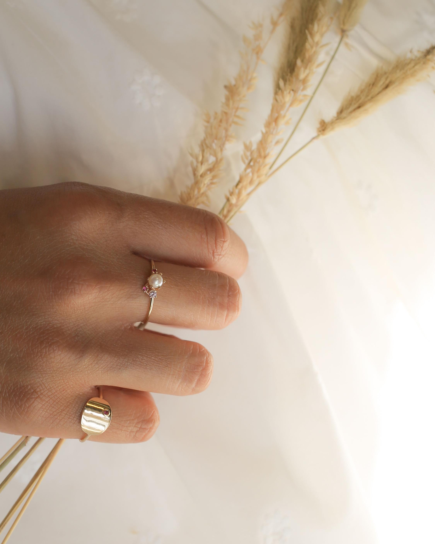Poppy Finch Oval Ruby Ring 3