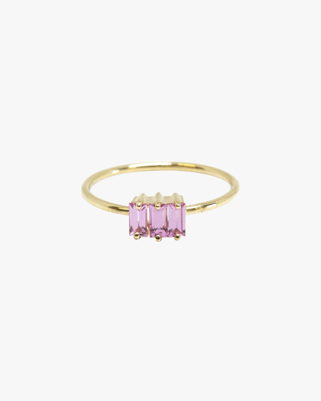 Poppy Finch Ripple Pink Sapphire Ring 1