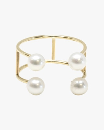 Double Baby Pearl Ring