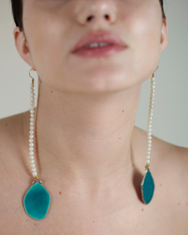 De Cosmi Millie Drop Earrings 1