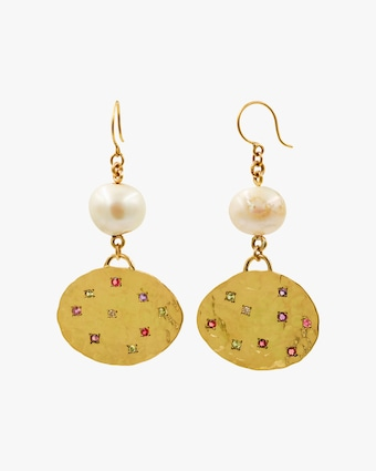 De Cosmi Comet Drop Earrings 1