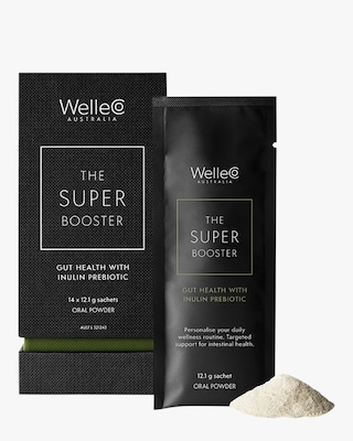WelleCo Super Booster Gut Health with Inulin Prebiotic 14pk 1