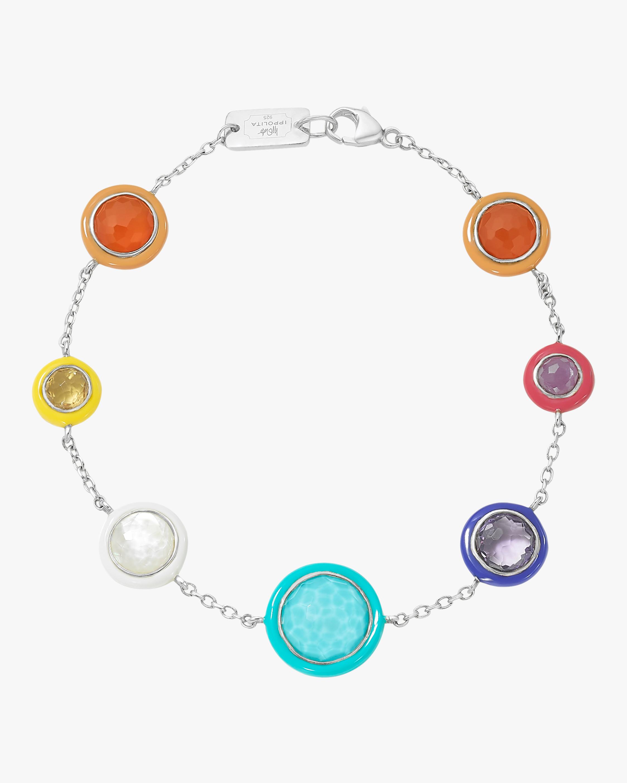 Lollipop Carnevale 7-Stone Chain Bracelet