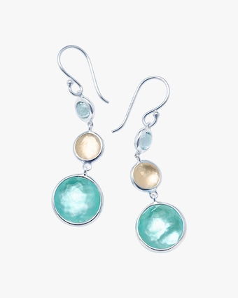 Lollipop Lollitini 3-Stone Drop Earrings