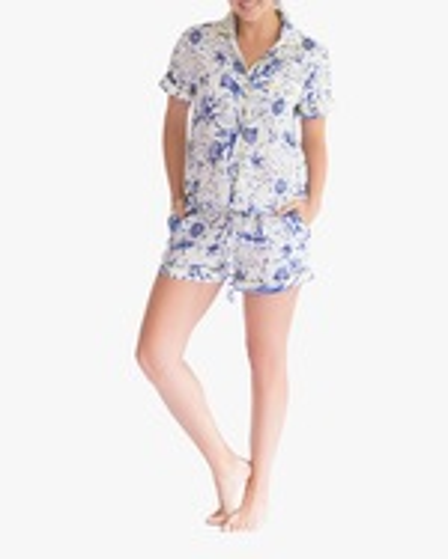The Lazy Poet Nina Linen Pajama Set 0