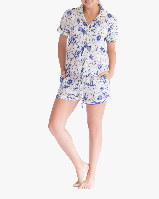 The Lazy Poet Nina Linen Pajama Set 1