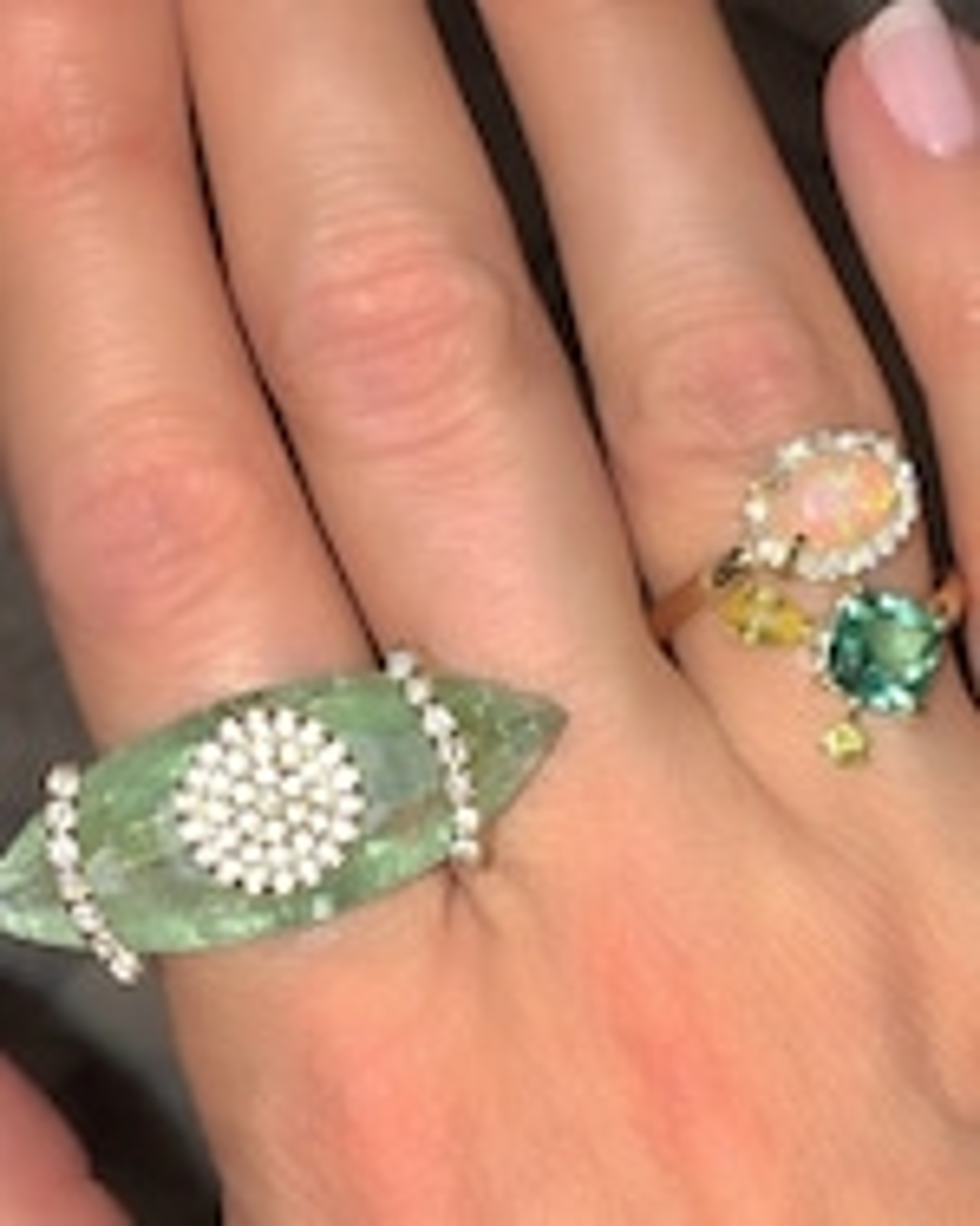 Eden Presley Opal Bypass Ring 1