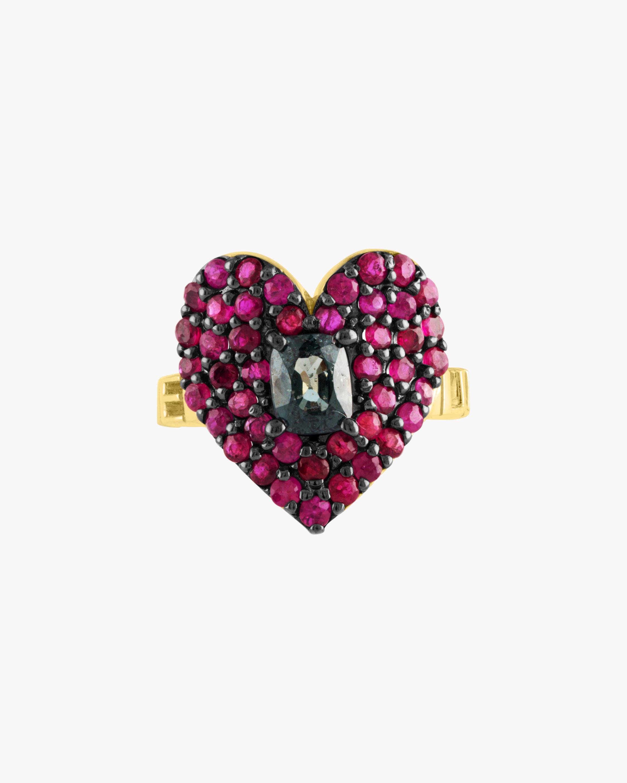 Eden Presley Love Luck Heart Ring 1