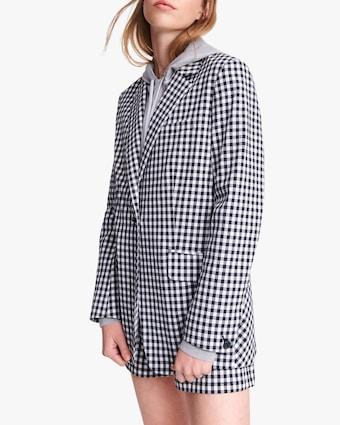 rag & bone Ames Gingham Blazer 2