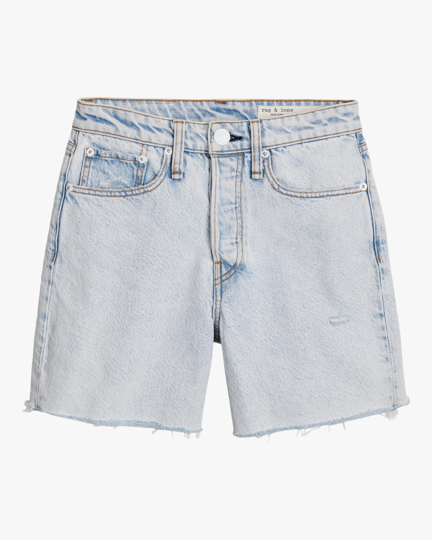Maya High-Rise Midi Shorts