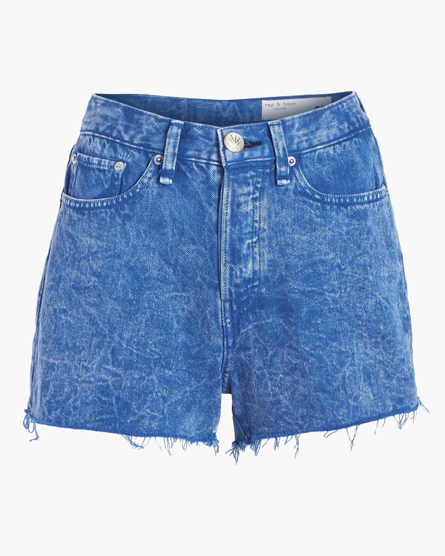rag & bone Maya High-Rise Shorts 0
