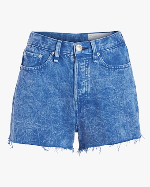 rag & bone Maya High-Rise Shorts 1