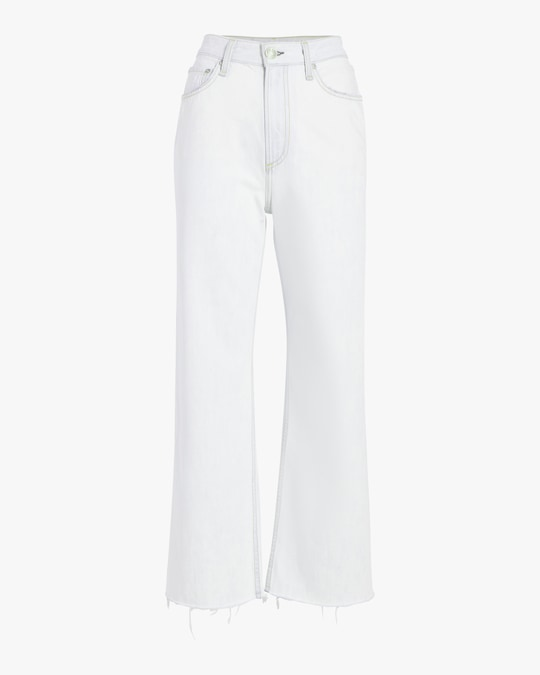 rag & bone Ruth Super High-Rise Ankle Wide-Leg Jeans 0