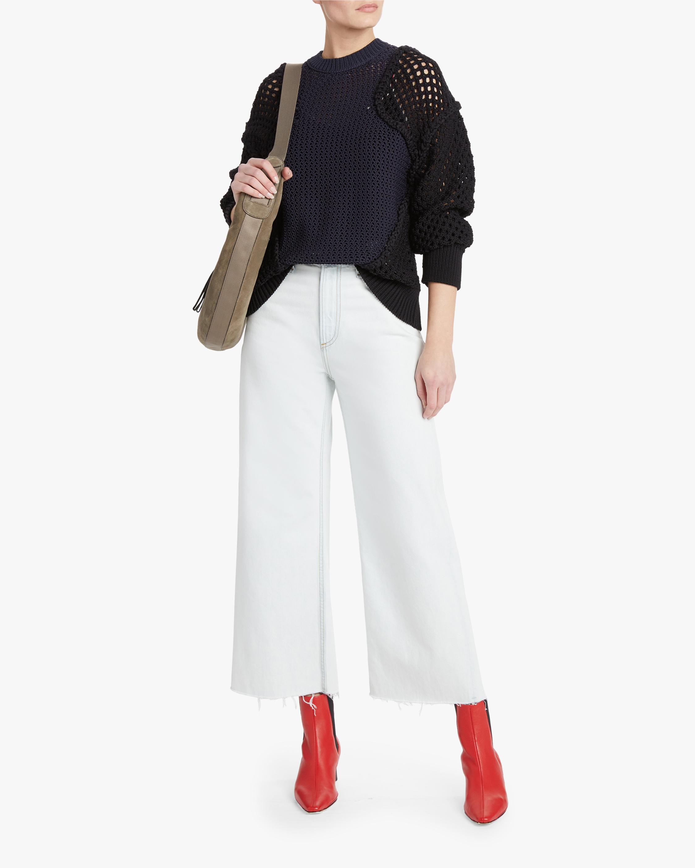 rag & bone Ruth Super High-Rise Ankle Wide-Leg Jeans 1