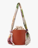 Montunas Isla Leather Bucket Bag 1