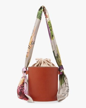 Isla Leather Bucket Bag