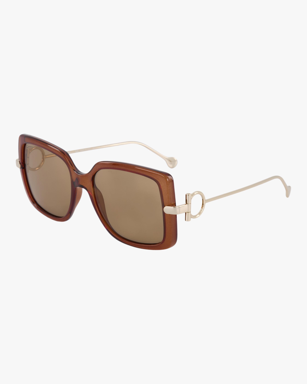 Salvatore Ferragamo Gancino Oversized Sunglasses 1