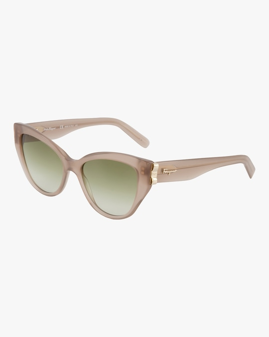 Salvatore Ferragamo Vara Cat-Eye Sunglasses 1