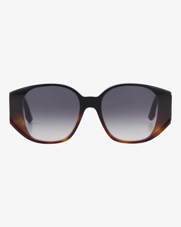 Exposed Lens Soft Square Sunglasses