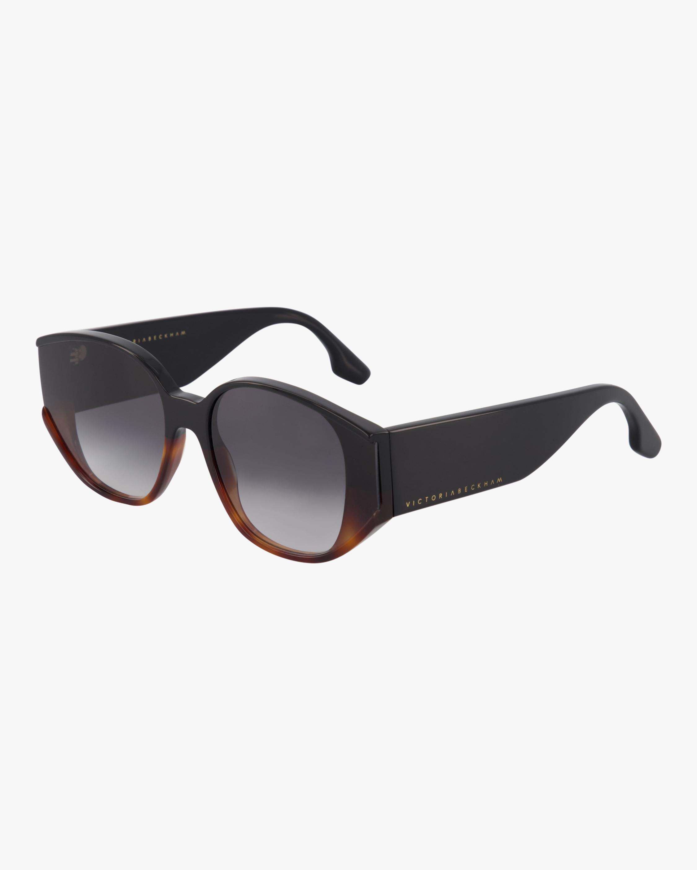 Victoria Beckham Exposed Lens Soft Square Sunglasses 1