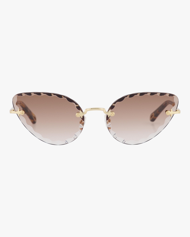 Chloe Rosie Cat-Eye Sunglasses 0