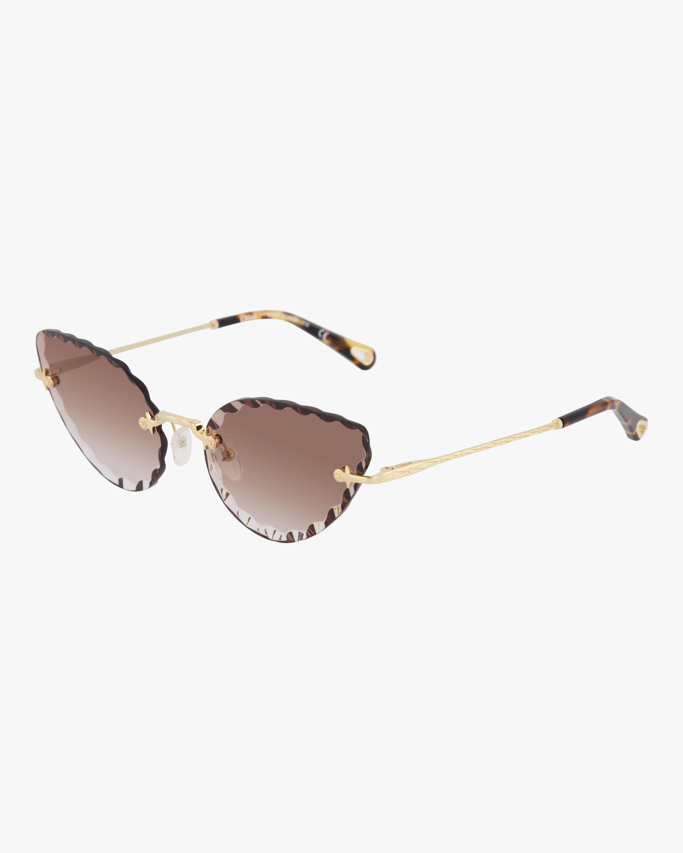 Chloe Rosie Cat-Eye Sunglasses 1