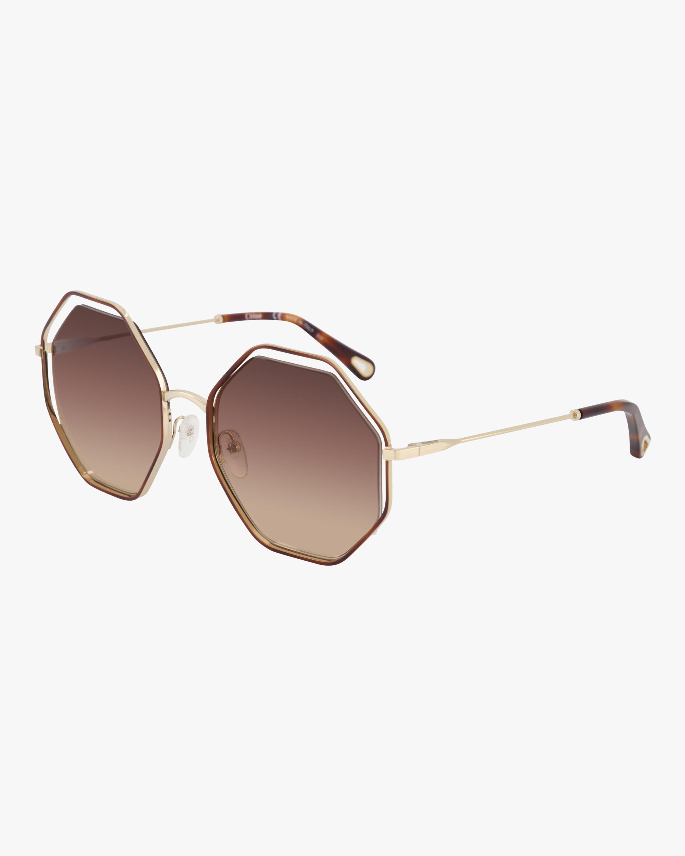 Poppy Geometric Sunglasses