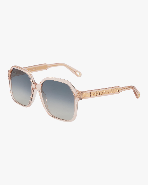 Chloe Willow Oversized Sunglasses 1