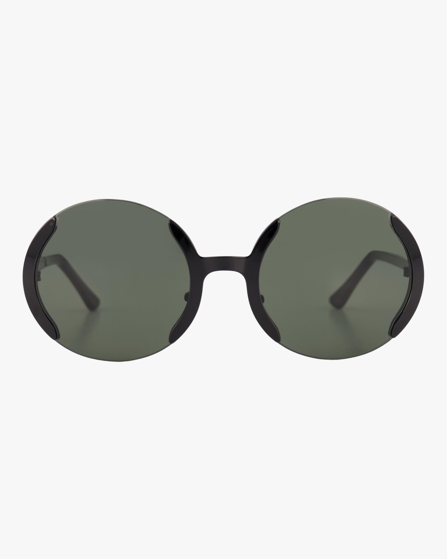 Marni ME110S Semi-Rimless Round Sunglasses 1